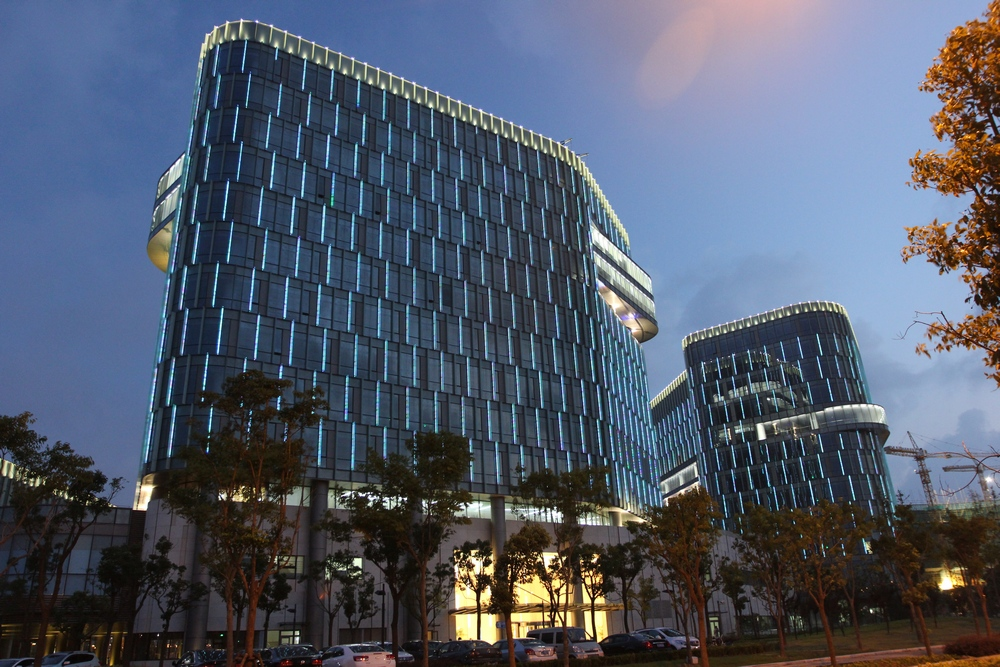 鲁班奖--上海森兰国际大厦