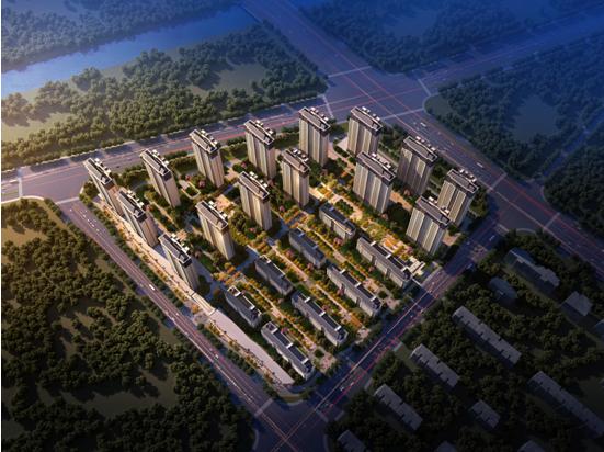 集团第二工程公司承建的洛阳佳兆业华耀城10#地块项目举行开工仪式